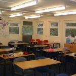 Modular Classroom Interior